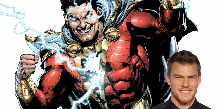 Alan Ritchson, who recently portrayed Raphael in the latest TMNT movies, now wants to take on the role of Shazam. Image Source: DC Comics.