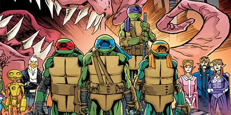 Free Teenage Mutant Ninja Turtles Comic Coming Out on TMNT Day