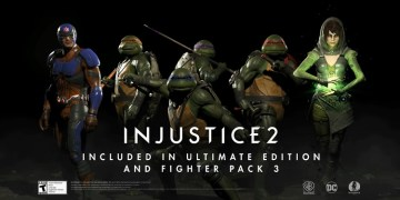 The turtles are looking very good in this Injustice 2 fighter pack. Image Source: WB Games.