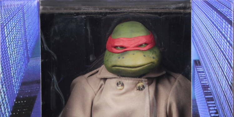 Neca Reveals Official Packaging For Raphael In Disguise Tmnt Figure