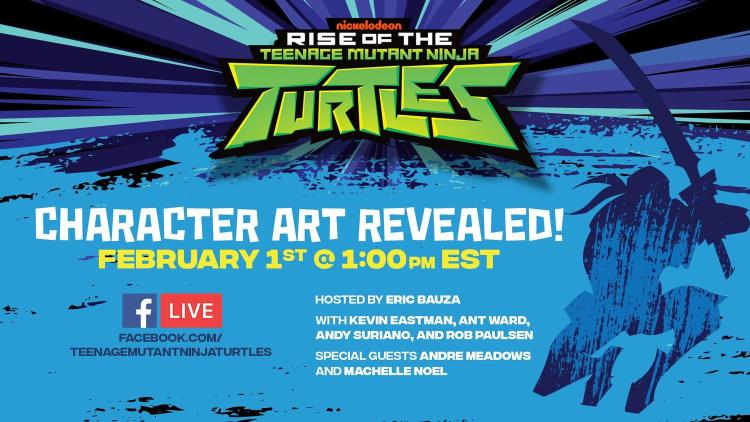 Nickelodeon has a huge announcement to make and revelations prepared for a special Facebook Live event on February 1st at 1pm EST. Image Source: Nickelodeon.