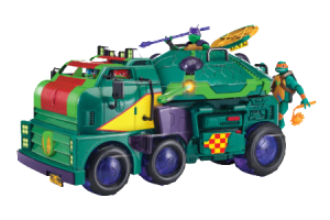 The new Turtle Van is actually called the Turtle Tank! Image Source: Playmates Toys, Nickelodeon.