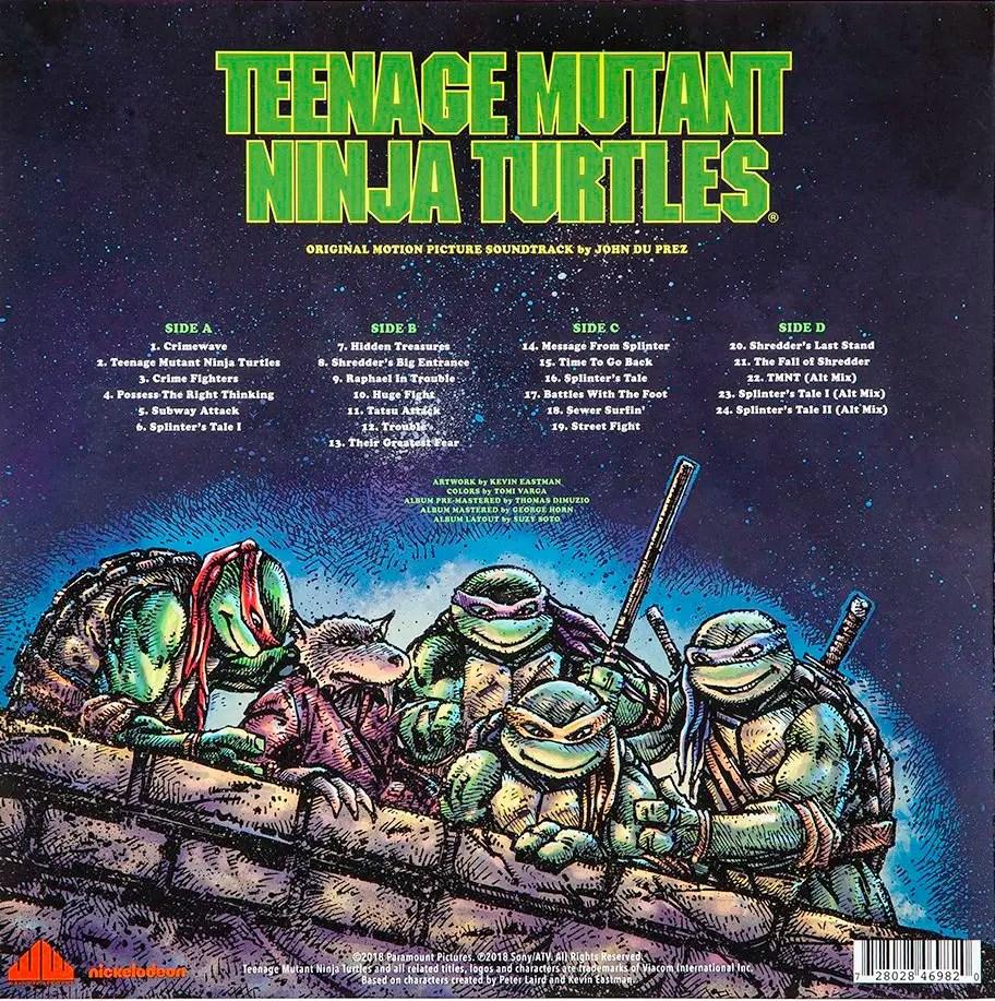 Teenage Mutant Ninja Turtles 90 S Film Soundtrack Coming