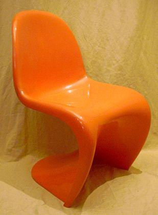 panton s chair darvis leather recliner club brown von fehlbaum/vitra