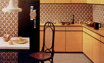 Wohnstil  70er Jahre