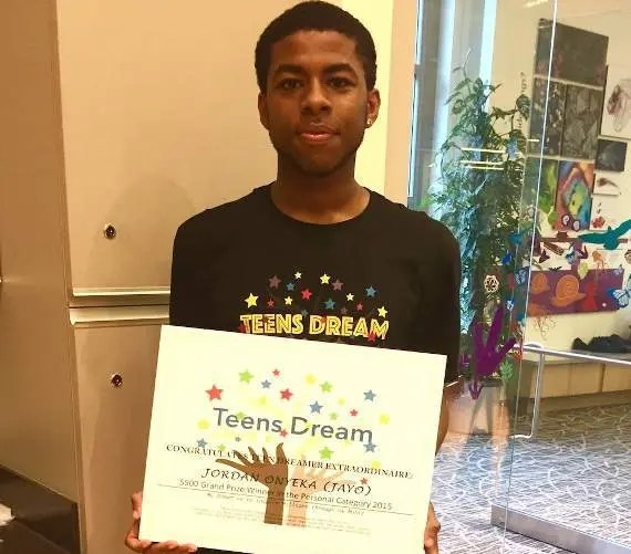 Teens Dream Grand Prize Winner JAYO gets Press!