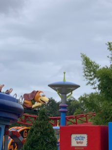 Slinky Dog Ride.... no mom of course