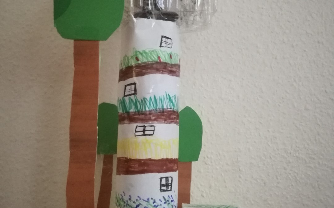 Buildings from our TeenTech City of Tomorrow at Home – Week 4