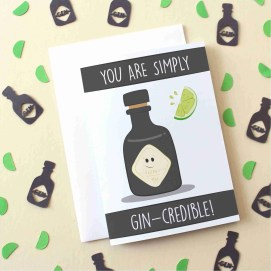 gincredible card new