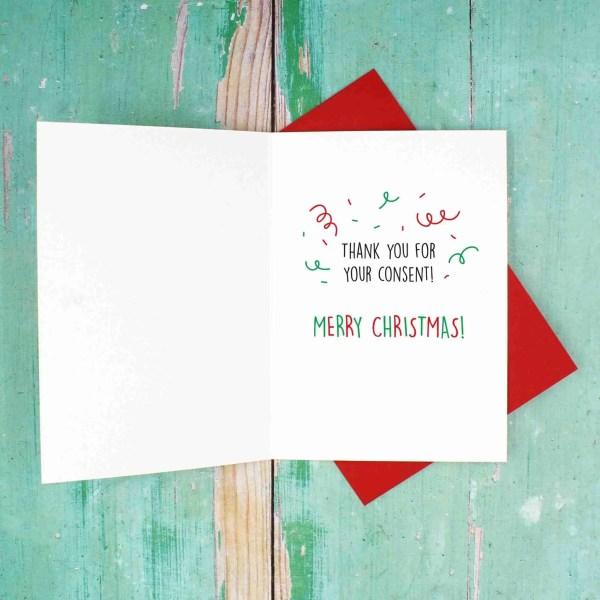 GDPR Christmas card inside