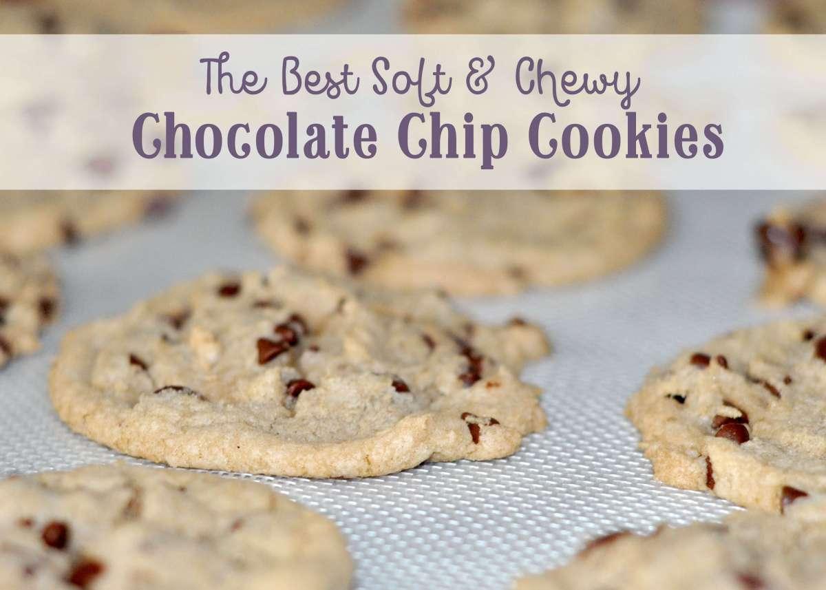 The Best Chocolate Chip Cookies Ever!! www.TeepeeGirl.com