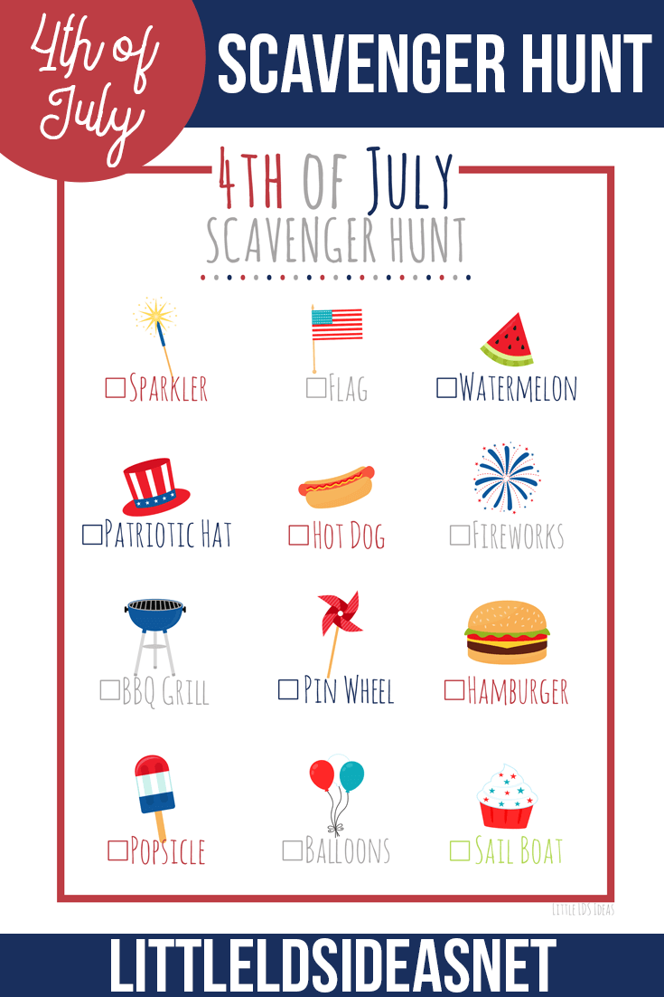 4th-of-July-Scavenger-Hunt-printable