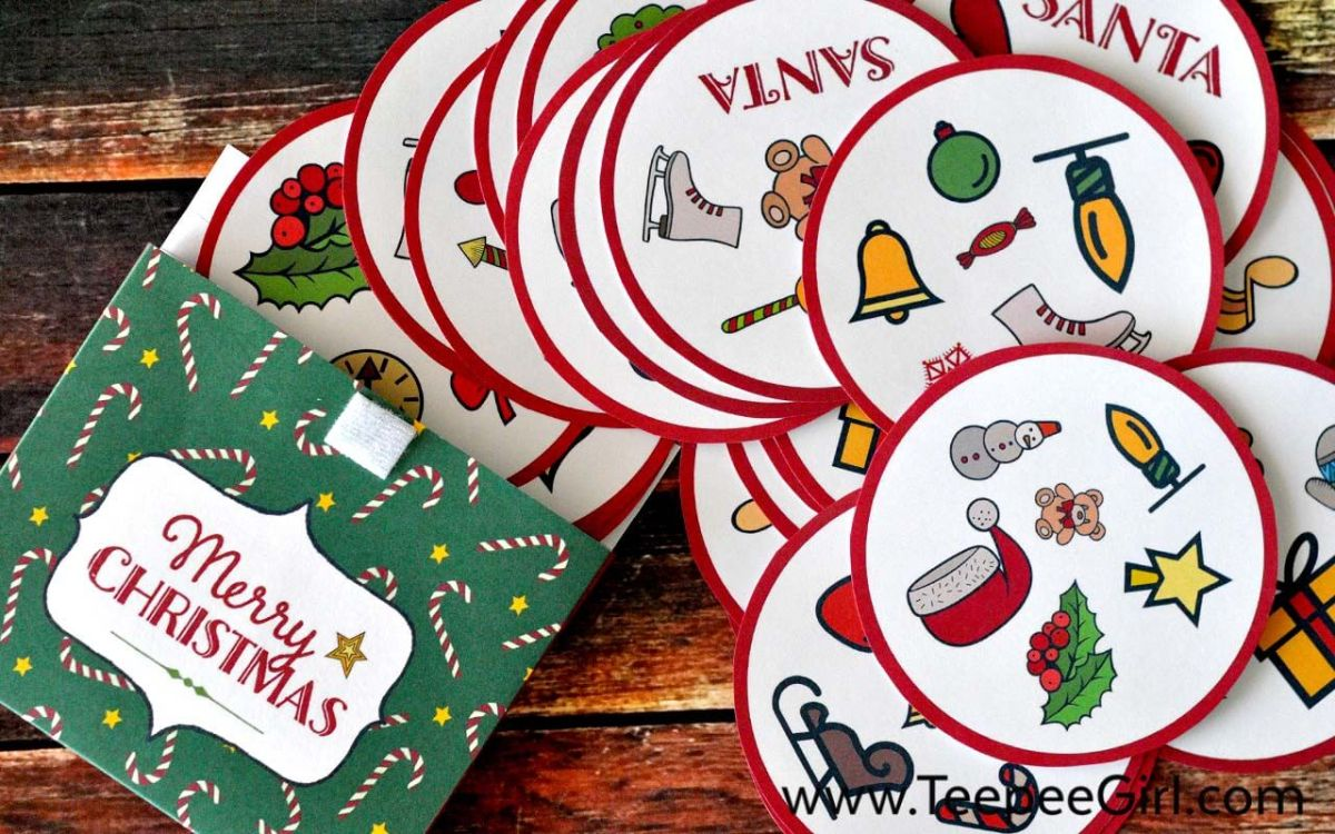 Free Christmas Matching Game {+ Gift Box}