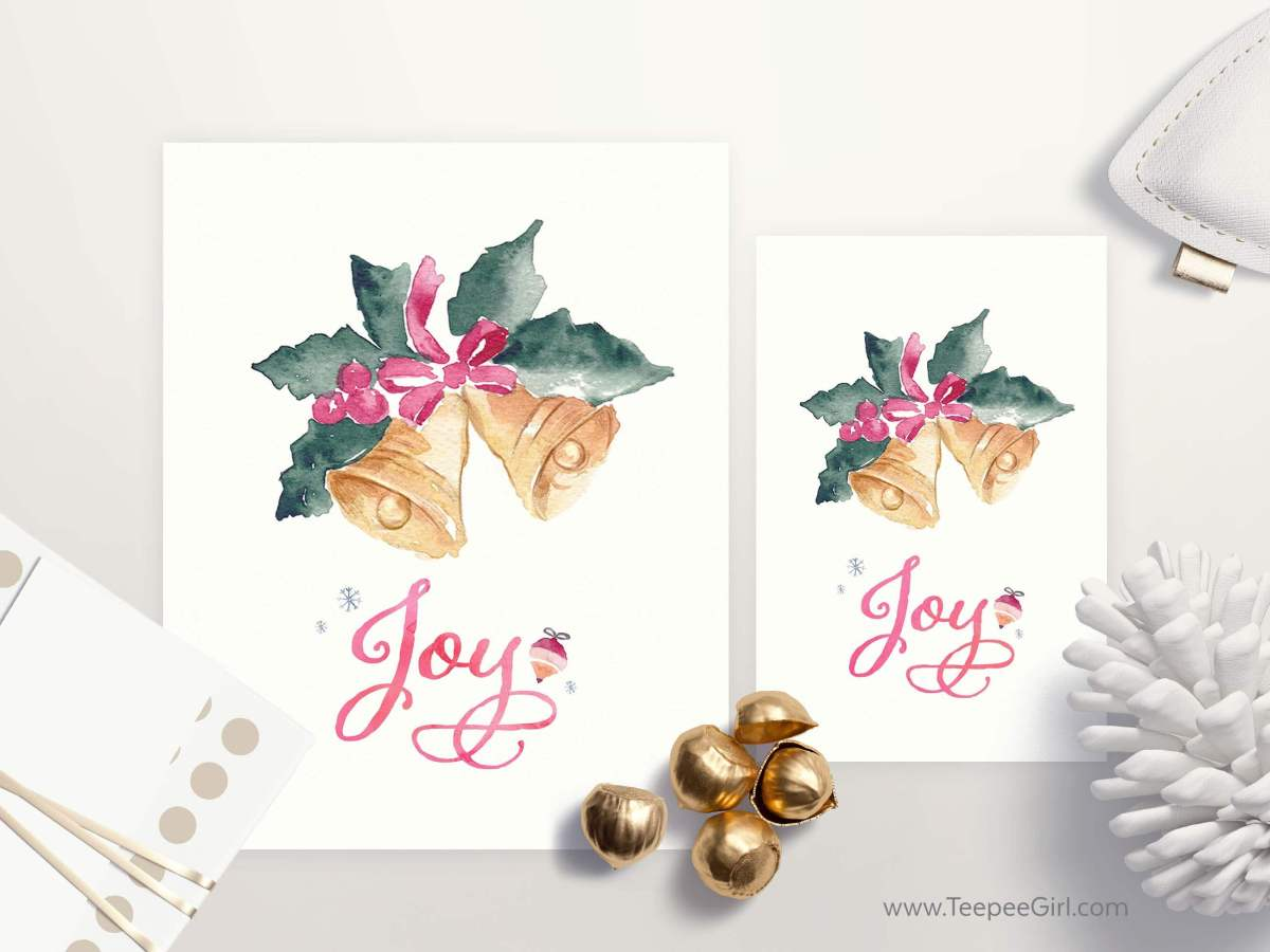 This free printable is perfect for your December visiting teaching, or simply as a nice gift or handout. It comes in two sizes: 8x10 & 4x6. Get yours today at www.TeepeeGirl.com!