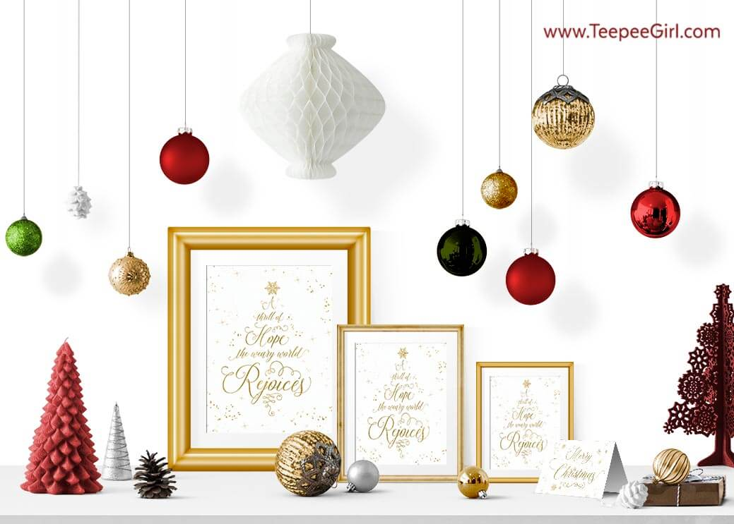 Free Christmas Printable Set