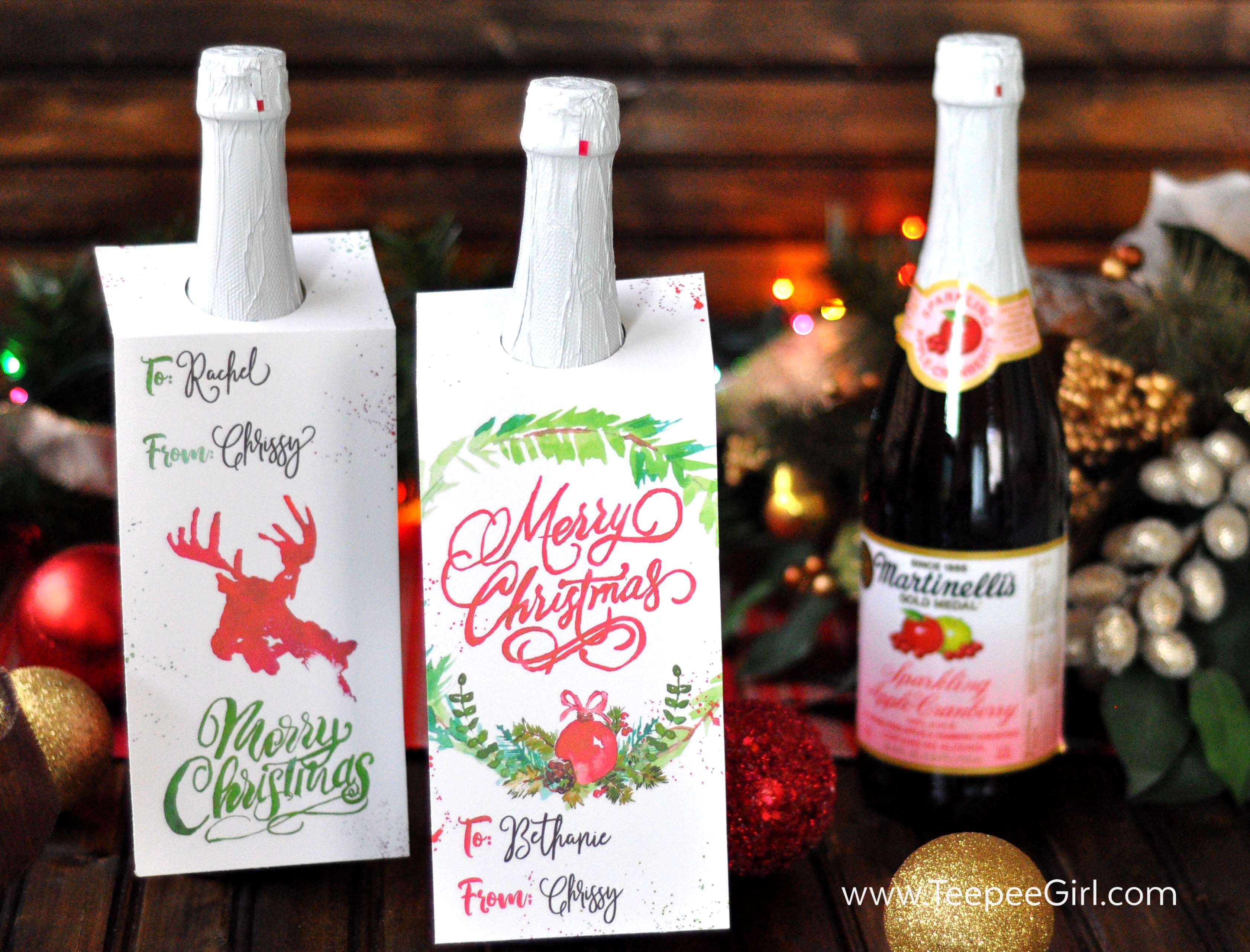 Free Bottle Tag Printables