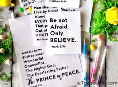 These #PRINCEofPEACE printable and study guides are the perfect way to get inspired this Easter season! www.TeepeeGirl.com