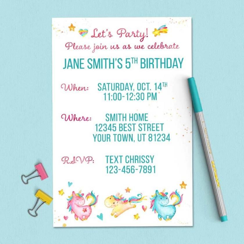 Get this custom invitation today!!