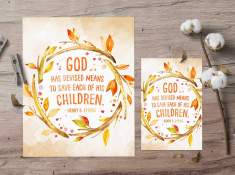 October 2017 LDS Visiting Teaching Printable Handout www.TeepeeGirl.com