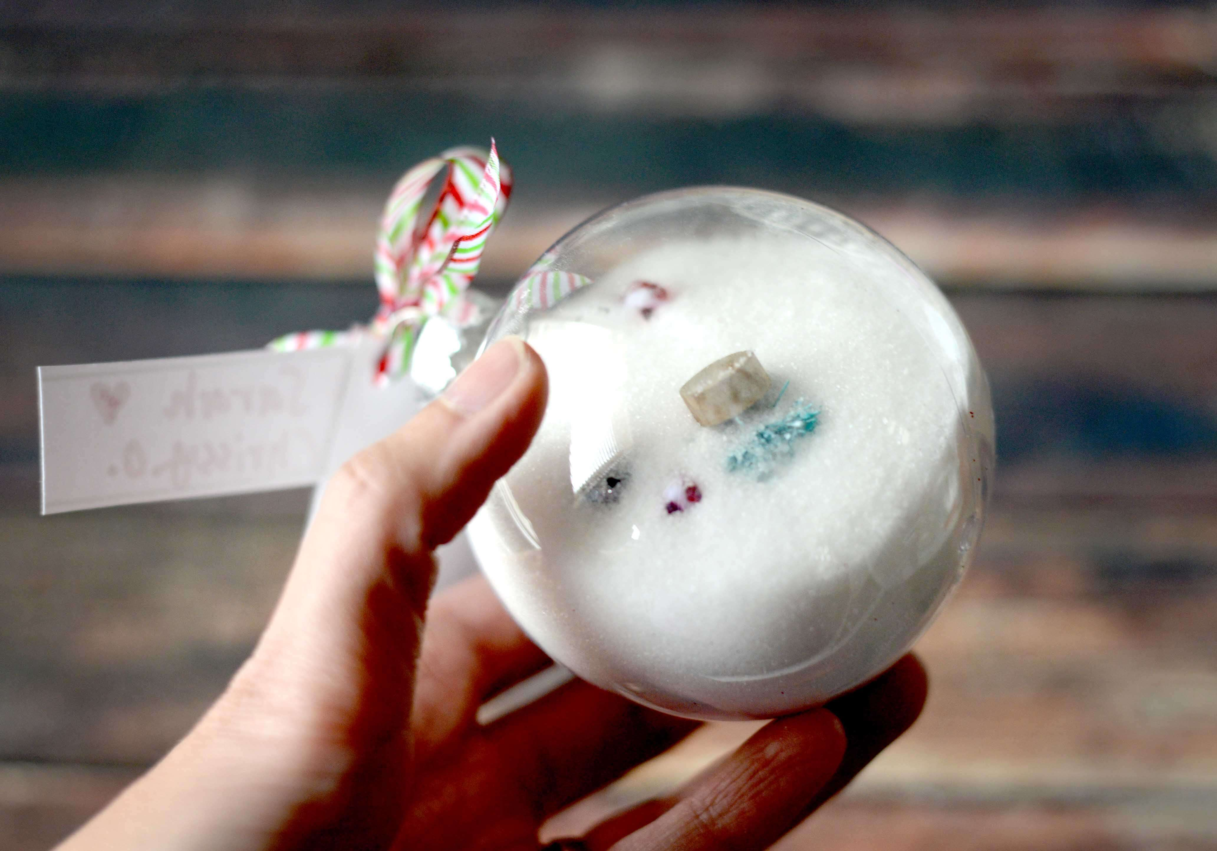 I Spy Christmas Ornament (Tutorial & Free Printables)