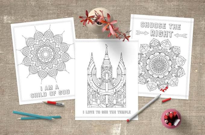 Teepee Girl - Pretty Printables for Mormon Moms