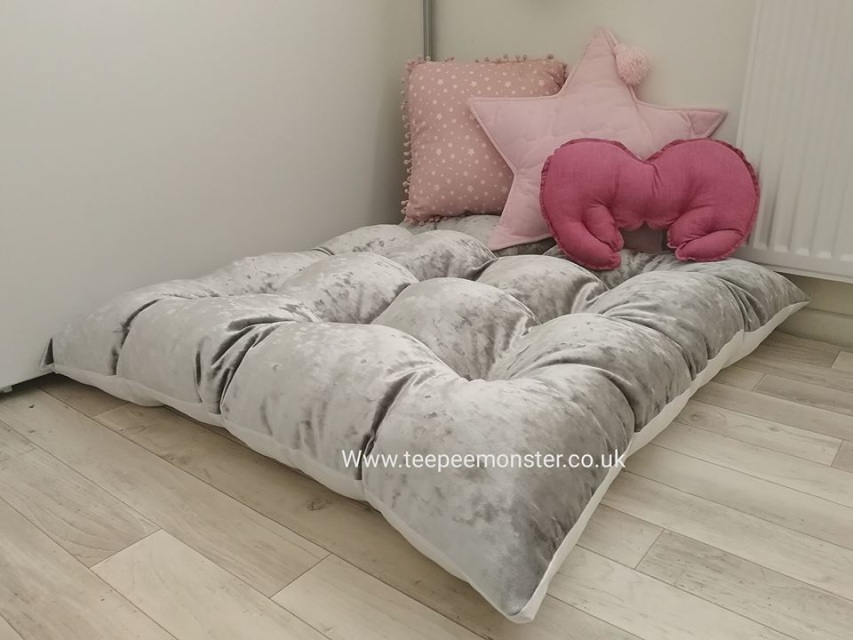 Crushed Velvet  Floor Cushions