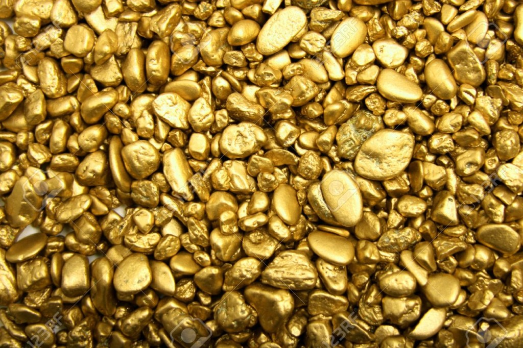 375233-Gold-nuggets-Stock-Photo