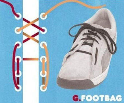 15種「每個會穿鞋子的人都必學」的超帥氣花式鞋帶綁法。光靠鞋帶就可以少買幾雙鞋子了!