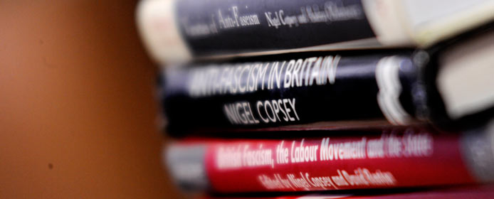 Professor Nigel Copsey...on research