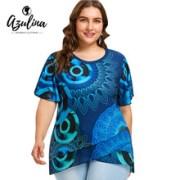 AZULINA-Plus-Size-Print-Flutter-Sleeve-Overlap-T-Shirt-Women-T-Shirt-2018-O-Neck-Short.jpg_220x220