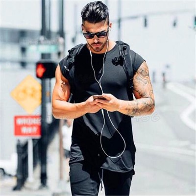 Brand-clothing-fitness-t-shirt-men-fashion-extend-long-tshirt-summer-gyms-short-sleeve-t-shirt_8