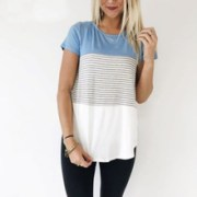 DERUILADY-Women-Clothing-Summer-Short-Sleeve-O-Neck-T-shirt-2018-Fashion-Stripe-Patchwork-Casual-shirt.jpg_220x220