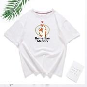 Doran-T-Shirt-Women-Tops-Summer-O-neck-T-Shirt-Short-Sleeve-Love-Gesture-Printed-Top_9