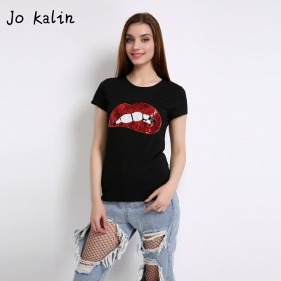 Hot-Sale-2018-T-shirts-for-women-summer-short-sleeve-sequin-red-lips-tshirt-ladies-fitness_7