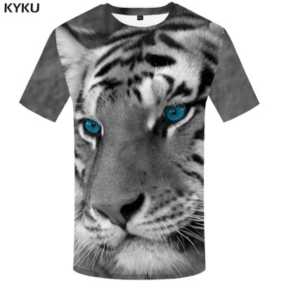 KYKU-Tiger-T-shirt-Gray-T-shirt-Animal-Clothes-Clothing-Plus-Size-Tshirt-Men-Man-2018_6