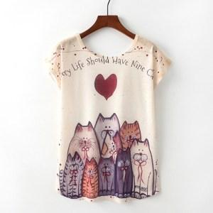 KaiTingu-Summer-Novelty-Women-T-Shirt-Harajuku-Kawaii-Cute-Style-Nice-Cat-Print-T-shirt-New_TP999