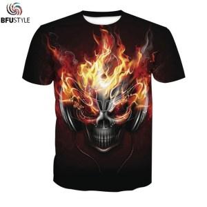 Music Skull Custom Tshirt Men Women