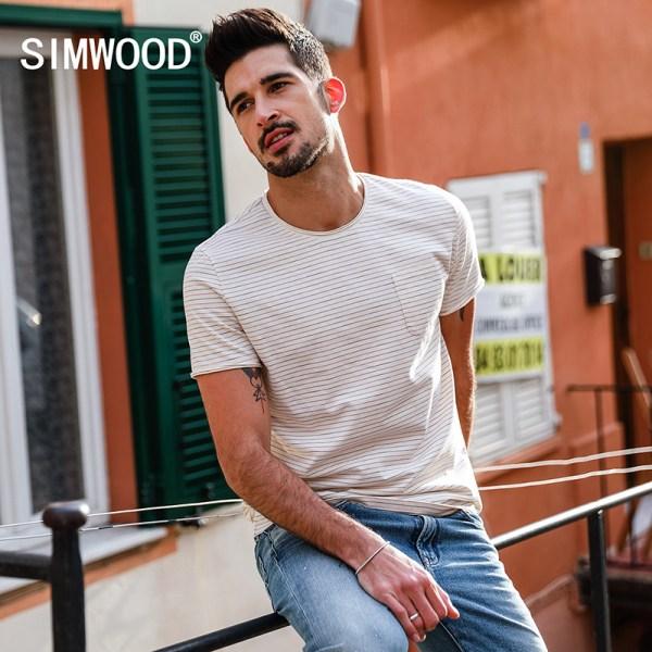 SIMWOOD-Hot-Sale-2018-Summer-T-Shirts-Men-Slim-Fit-100-Cotton-Plus-Size-High-Quality_13