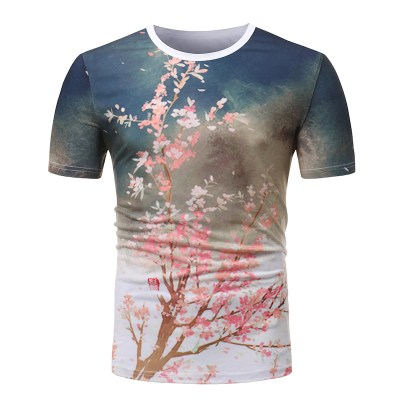 plus-size-2018-new-Cherry-blossoms-3d-print-men-short-sleeve-t-shirt-fashion-0-neck_7