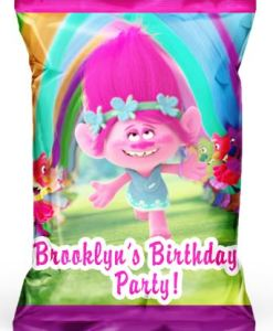Personalized Troll Chip Bags