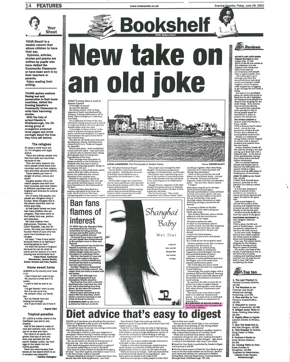 2001-06-29, Evening Gazette