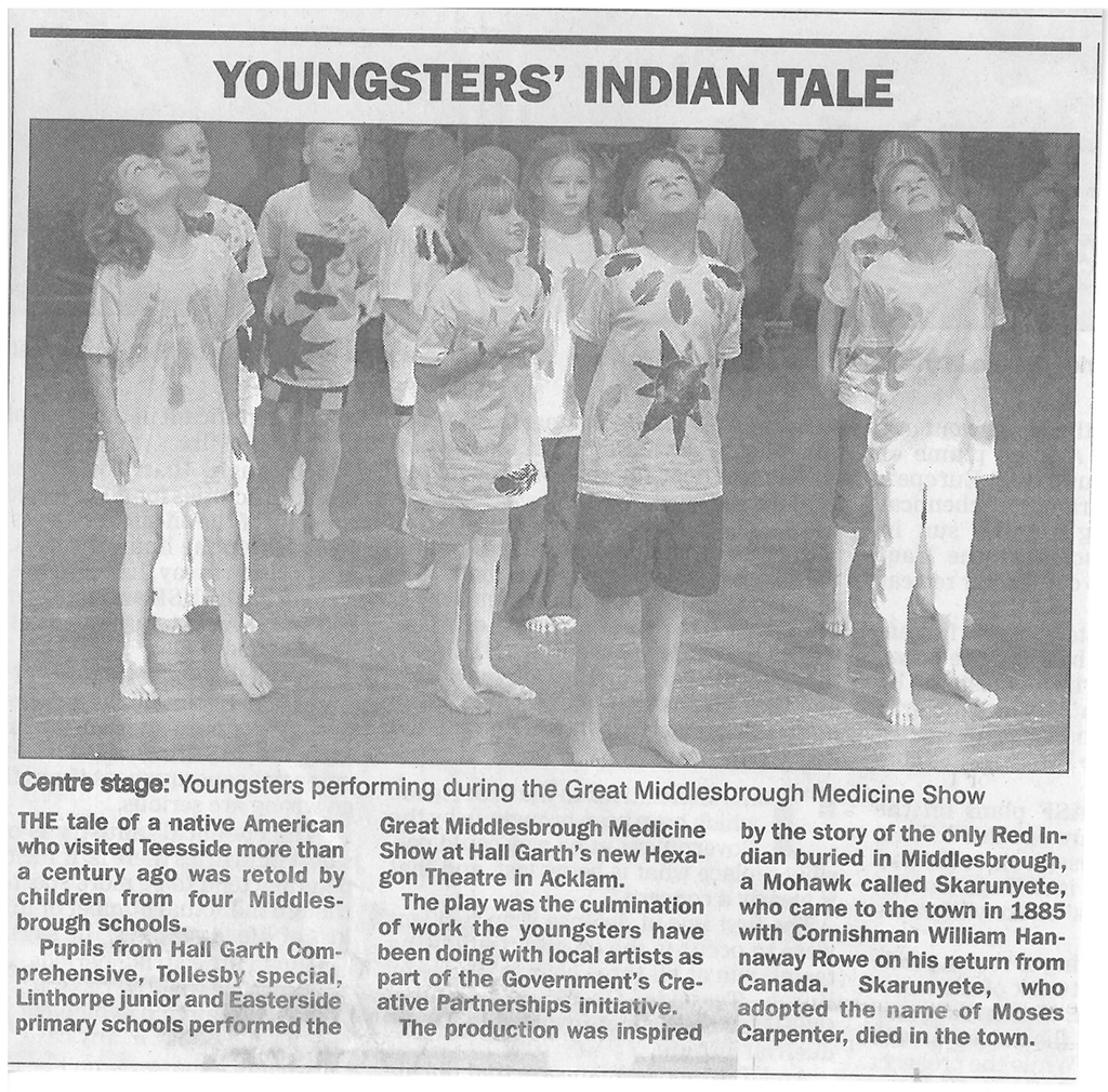 2002, Indian Tale