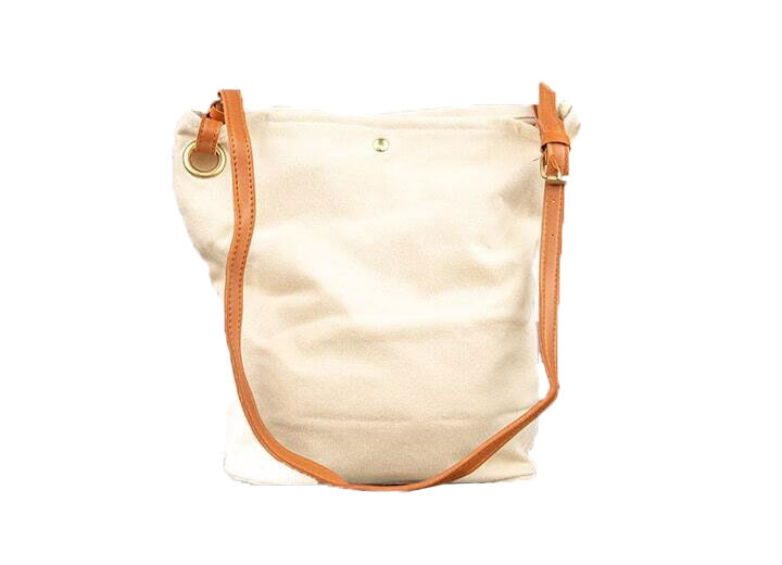 3 Fold Bag With Faux Leather Strap Main