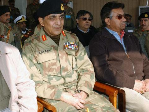 Musharraf and Kiyani