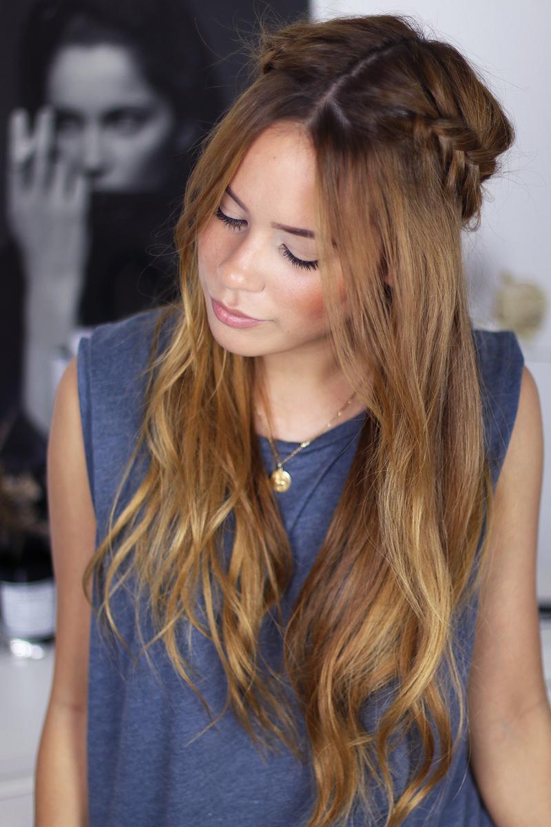 wiesn ready braided hair crown