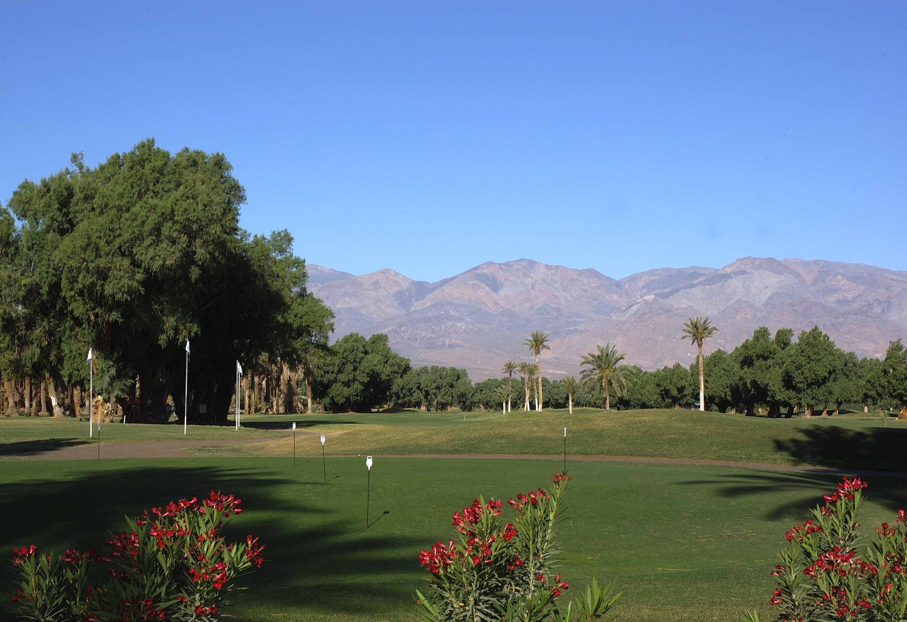 Furnace Creek Golf Course, Death Valley, California