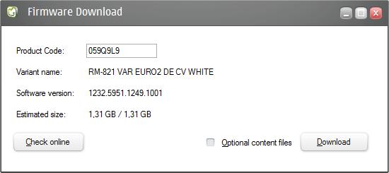 Nokia Care Suite 5.0 Firmware-Download