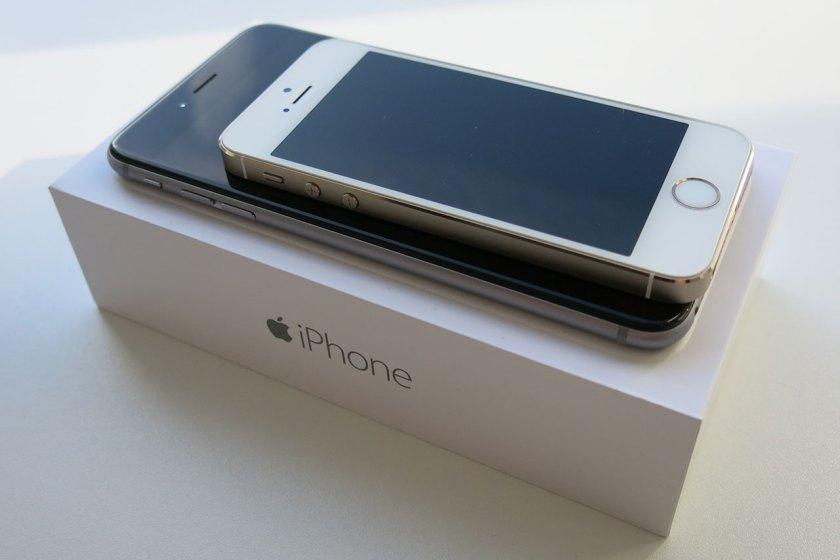 iPhone 5s auf 6 Plus