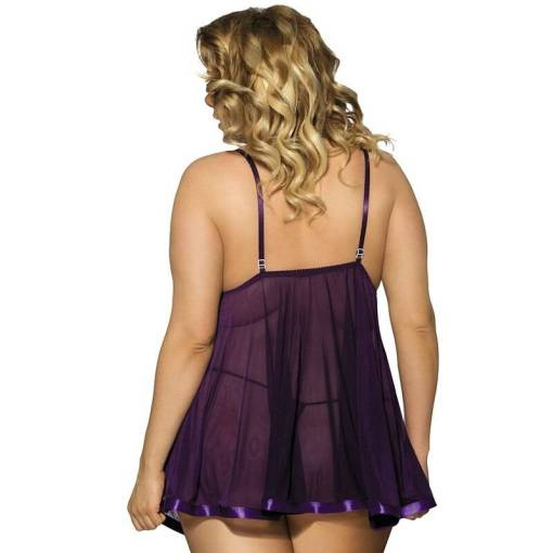 Plus Size Babydoll Sleepwear For Women