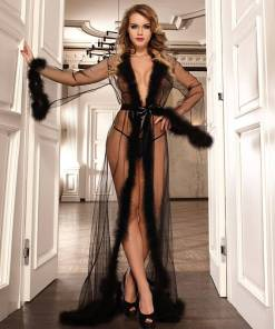 Robe for Women Plus Size Sexy Nightgown